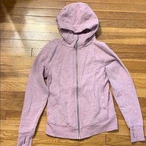Lululemon scuba hooded sweatshirt